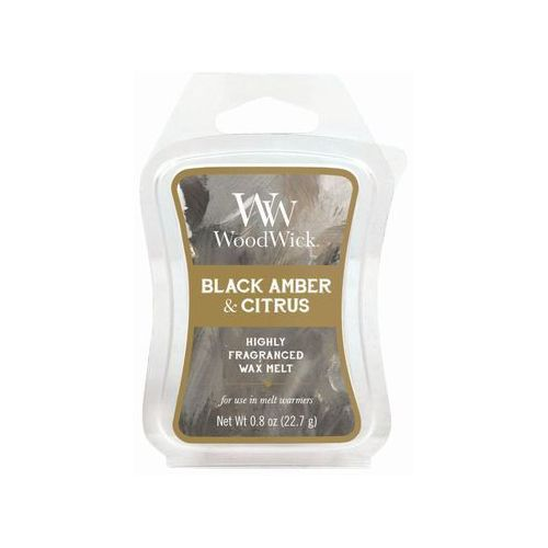 - wosk zapachowy artisan - black amber & citrus 10h marki Woodwick