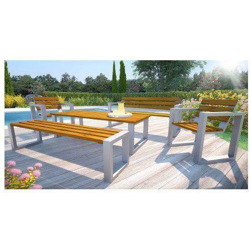 Producent: elior Komplet mebli ogrodowych 180cm norin - 24 kolory