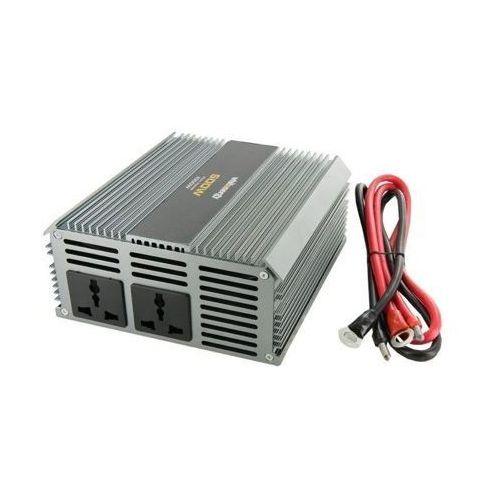 Przetwornica WHITENERGY Przetwornica 24V DC na 230V AC (5908214328802)