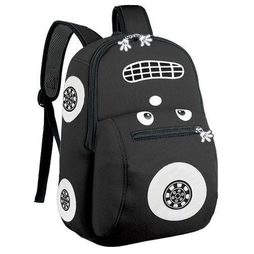 Plecak neoprenowy autko czarny - Spokey, kolor czarny