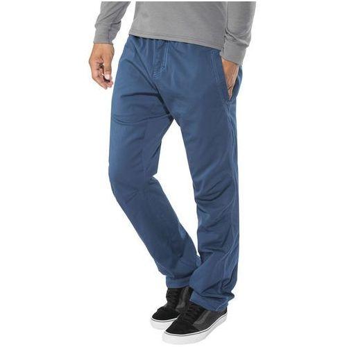 Edelrid monkee iii spodnie długie mężczyźni niebieski l 2018 spodnie wspinaczkowe