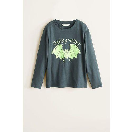 Mango kids - piżama dziecięca glow 104-164 cm