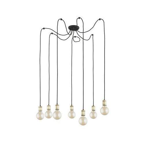 Tk lighting Żyrandol na drutu qualle 7xe27/60w/230v beżowy (5901780515157)