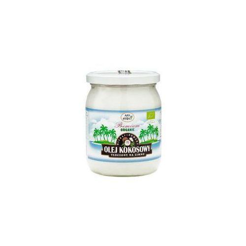 Olej kokosowy - nierafinowany, extra virgin 450 ml marki Aura glob. Najniższe ceny, najlepsze promocje w sklepach, opinie.