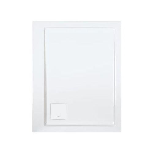 brodzik prostokątny space line 90x75x3cm + syfon 615-110-0060-01-000 marki Sanplast