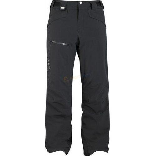 Spodnie narciarskie męskie Brillant Pant Salomon (czarne)