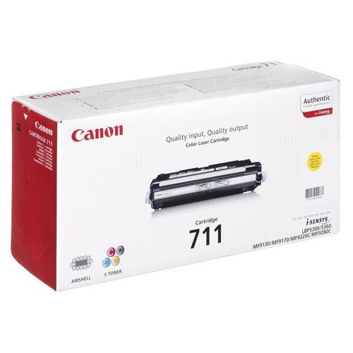 Canon cartridge 711 yellow (4960999403717)