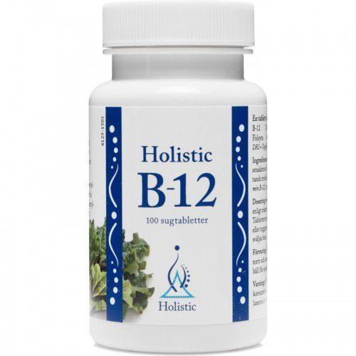 Holistic Witamina B 12 (100 tabletek) (7350012330941)