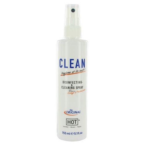 Hot Spray do dezynfekcji akcesoriów zapachowy -  clean disinfecting & cleaning spray
