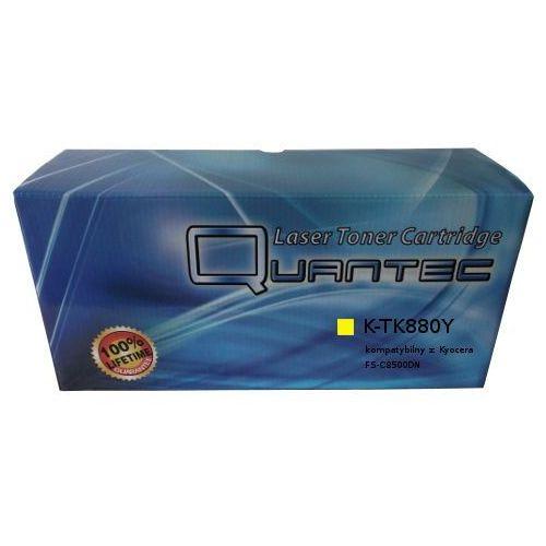 Quantec Zastępczy toner kyocera [tk-880y] yellow