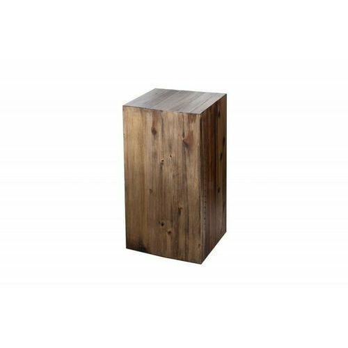 Invicta kolumna columna 50 cm brązowa akacja, drewno naturalne marki Sofa.pl