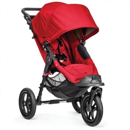 Wózek  city elite single red + darmowy transport! marki Baby jogger
