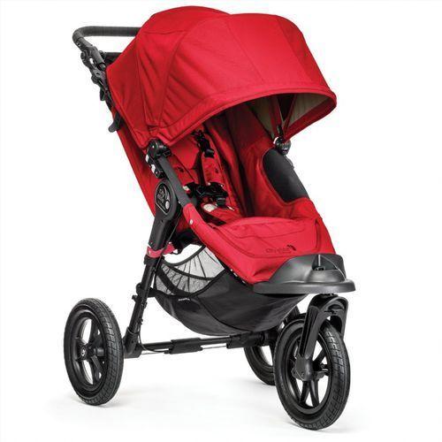 Wózek city elite single red + darmowy transport! marki Baby jogger