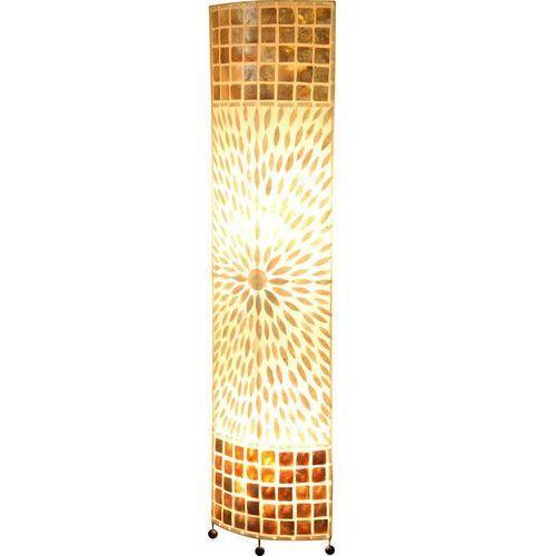 Lampa podłogowa bali 2x60w e27 brąz 25826 marki Globo