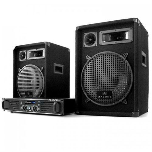 "kompletne dj pa ""marrakech lounge"" wzmacniacz 2x glosniki marki Electronic-star"