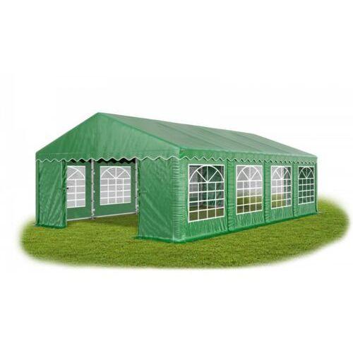 4x8x2m, solidny namiot bankietowy, wystawowy, imprezowy, konstrukcja winter/pe - 32m2 marki Das company