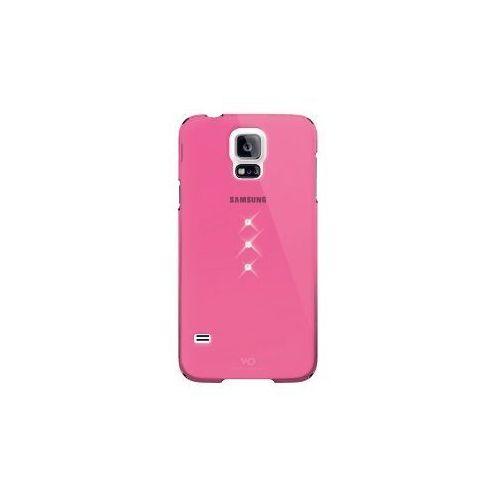 Etui HAMA do Galaxy S5 White Diamonds Trinity Różowy, 001538140000
