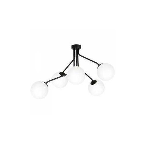 brik 978f1/k plafon lampa sufitowa 5x40w e14 czarny marki Aldex