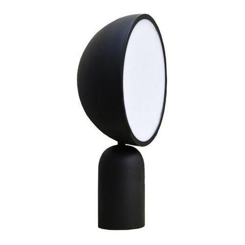Eno studio Atlas-lampa stojąca drewno i metal czarny wys.41cm