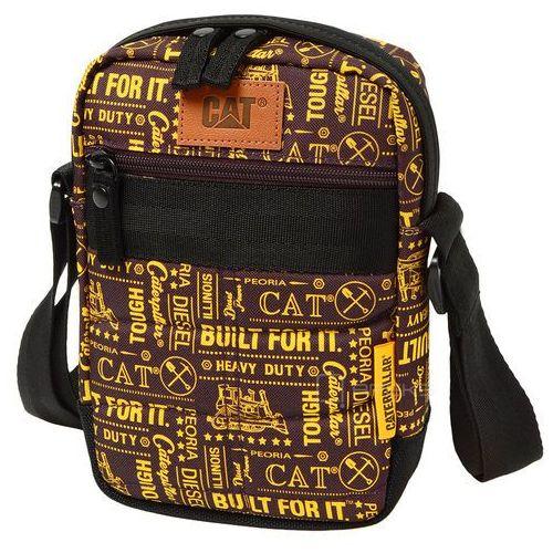 Caterpillar Cat rodney torba na ramię / saszetka na mini tablet / brązowa - brown/gold (5711013041328)