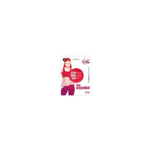 Starter na kartę Virgin mobile 5zł karta sim prepaid z kategorii Zestawy startowe i doładowania