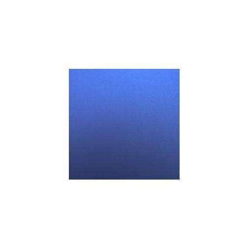 Folia satynowa matowa metaliczna ciemna niebieska szer 1,52 mmx21 marki Grafiwrap