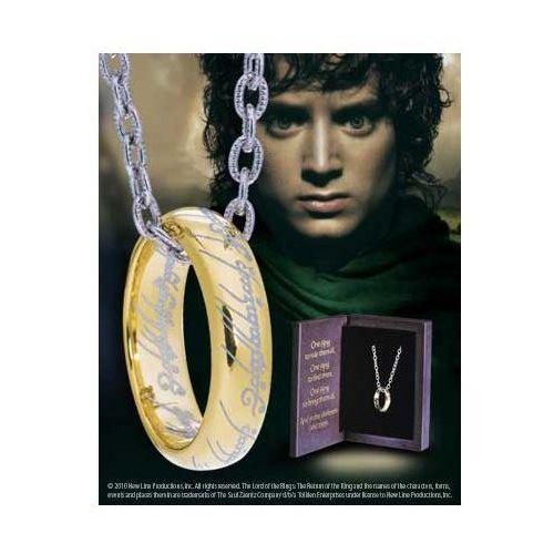 The noble collection Jedyny pierścień z filmu władca pierścieni (nn9269)