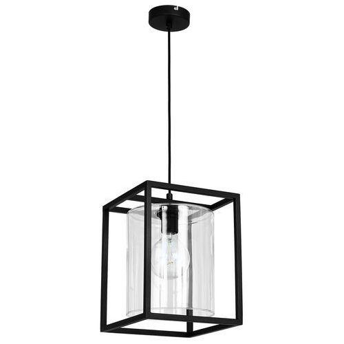 Lampa wisząca Luminex Works 3 7820 lampa sufitowa 1x60W E27 czarna, 7820
