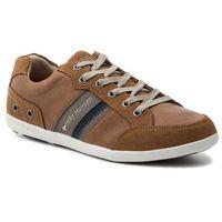 Helly hansen Sneakersy - kordel leather 109-45.725 new light tan/falcon/navy/pff white/sperry gum