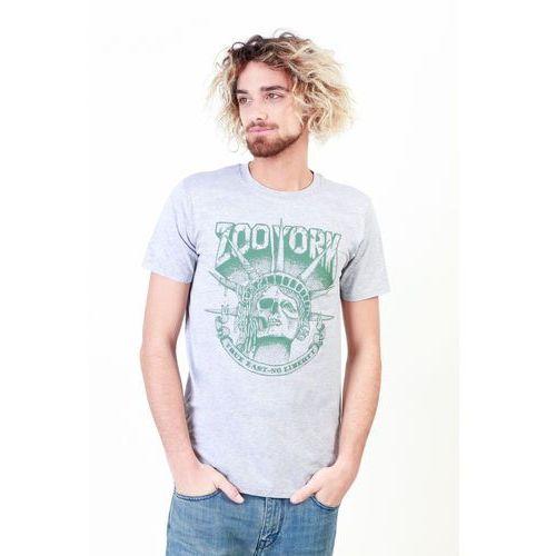 T-shirt koszulka męska ZOO YORK - ZZMTS110-15, kolor szary