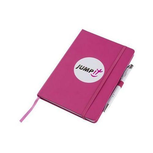 Jumpit  - notes różowy a5 + długopis i wlepka gratis