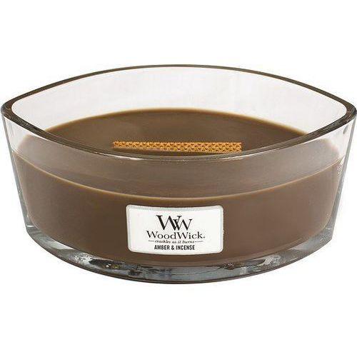 świeca zapachowa ambra i kadzidło 453,6 g marki Woodwick