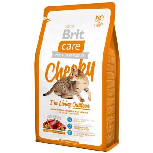 Brit Care Cat New Cheeky I'm Living Outdoor Venison & Chicken 2kg (8595602505678)