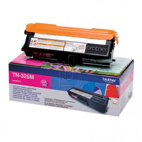 Brother oryginalny toner TN325M, magenta, 3500s, Brother HL-4150CDN, 4570CDW, TN325M