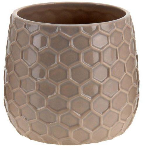Donica ceramiczna, osłona na donicę - 15 cm, B01N1T6WEP
