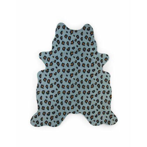 Childhome - dywan leopard 145x160 blue (5420007156374)
