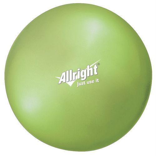 Piłka gimnastyczna over ball green 18 lub 26 cm marki Allright