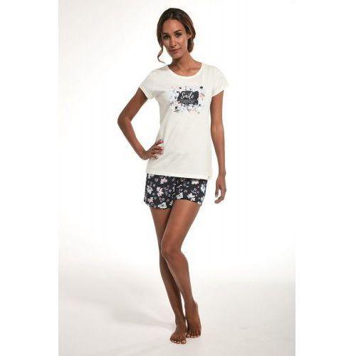 Piżama damska bawełniana 3 częściowa 665/225 smile 2 marki Cornette
