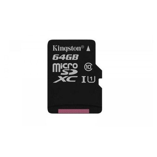 KINGSTON microSD 64GB Canvas Select 80/10MB/s (SDCS/64GBSP) >> KUP W NEO24.PL I ZYSKAJ 20% NA DRUGI TAŃSZY PRODUKT, 1_625059
