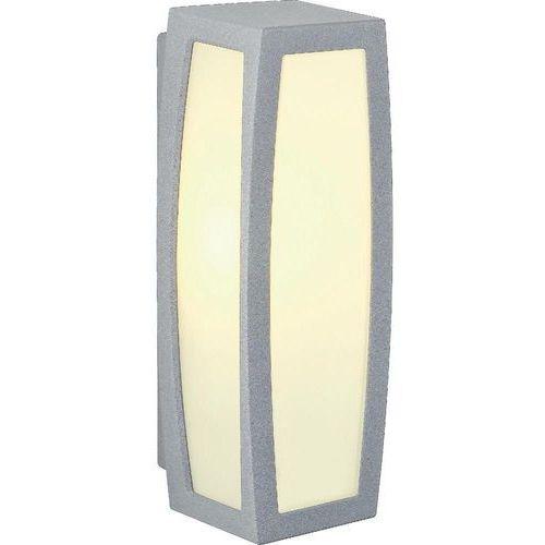 Lampa ścienna zewnętrzna SLV 230044, 1x20 W, E27, IP54, (DxSxW) 13 x 14 x 38 cm (4024163123884)