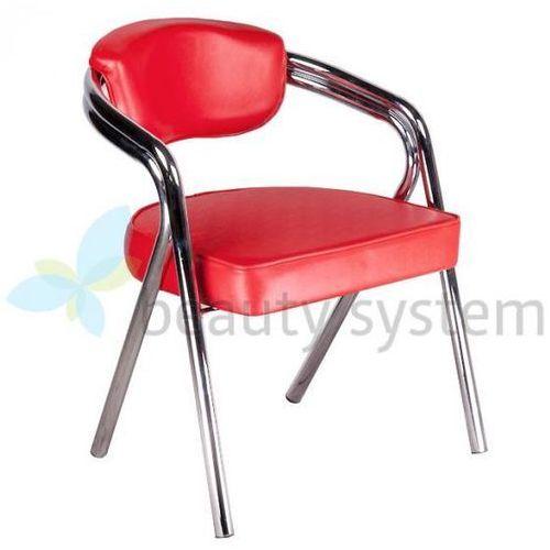 Krzesło do poczekalni BD-4511 czerwone z kategorii Akcesoria fryzjerskie