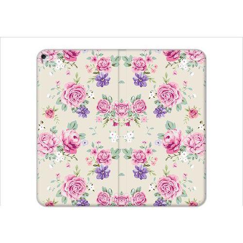 Apple iPad Pro 9.7 - etui na tablet Flex Book Fantastic - pastelowe różyczki, ETAP521FBFCFB003000