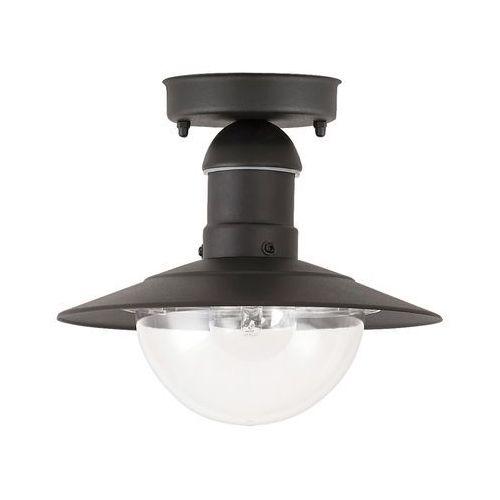 Plafon zewnętrzny lampa sufitowa Rabalux Oslo 1x60W E27 IP44 czarny 8716, 8716