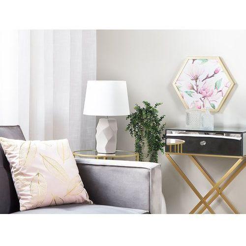 Lampa stołowa różowa 43 cm ELIA (4260624111322)