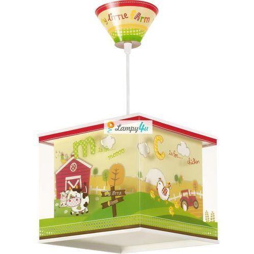 Dalber 64402 - lampa wisząca dziecięca my little farm 1xe27/60w/230v