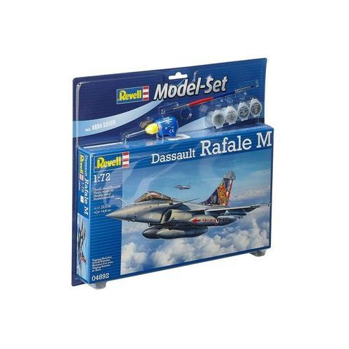 Revell Samolot myśliwski dassault rafale m (z farbami) 64892