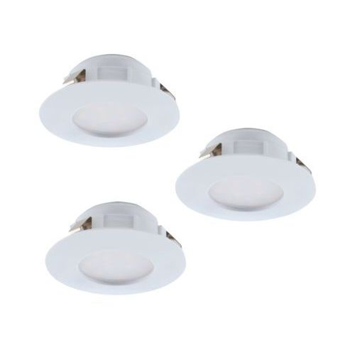 Eglo 95807 - Zestaw 3x LED Oprawa wpuszczana PINEDA 3xLED/6W/230V