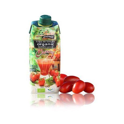 Biosabor (przetwory na bazie pomidorów) Sok z pomidorów cherry bio 500 ml - biosabor (8437010207518)