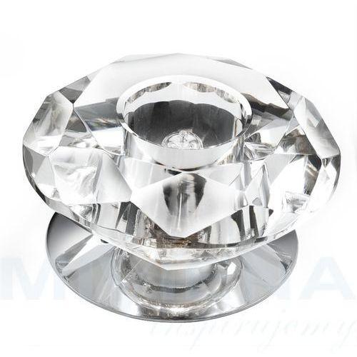Flush oczko 1 chrom szkło, 5156CC