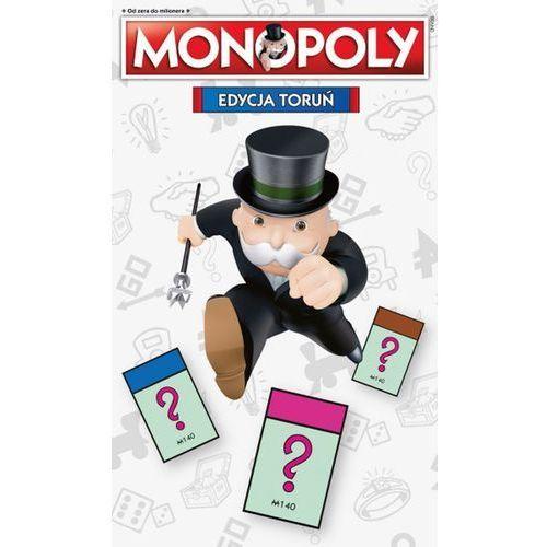 Winning moves Monopoly edycja toruń - hasbro. darmowa dostawa do kiosku ruchu od 24,99zł (5036905003018)